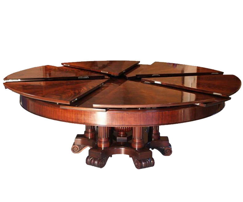 Dining room table round expandable - februarystakes.info