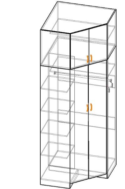 мебель своими руками как рассчитать угловой фасад шкафа мебель